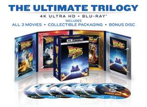Back to the Future 4K Trilogy £39.99 delivered with code @ HMV