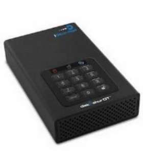 iStorage Encrypted Hard Drive DiskAshur DT2 2tb - £97.19 for new customers with code / £107.99 returning customers @ viking