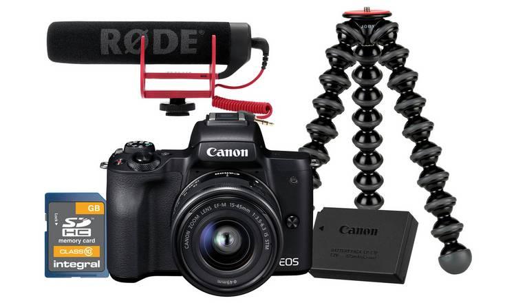 Canon EOS M50 Vlogger Kit £649.99 @ Argos