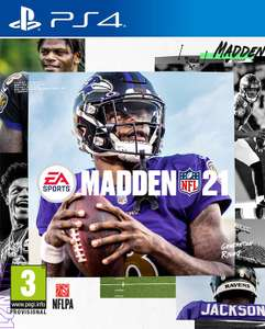 MADDEN NFL 21 - PS4/XBOX1 £32.99 (25% off) @ Amazon