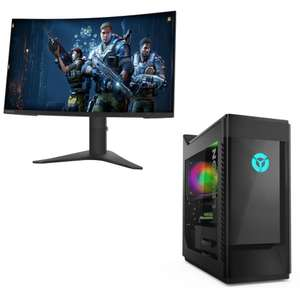 Legion Tower T5i Gaming PC i5-10400/16GB/512GB from £599.99 or with a Lenovo Gaming monitor from £623.99 - using code @ Lenovo