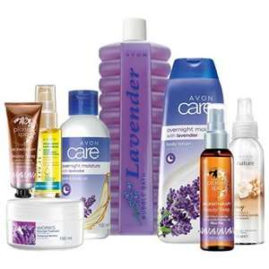 Lavender Spa Relaxation Bundle Collection £10 ( + £3 delivery \ Free when you spend £20 ) @ Avon