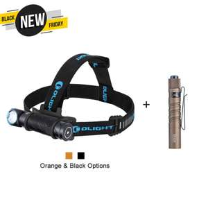 OLIGHT Perun 2 Black 2500 lumens head torch + i3T DT 180 lumens touch bundle for £65.94 delivered @ Olight