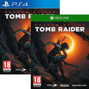 Shadow of the Tomb Raider on PS4 / Xbox One - £8.99 delivered @ Simply Games