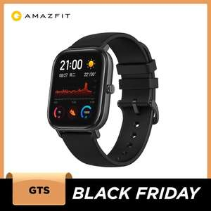 Amazfit GTS Smart Watch £67.08 delivered from EU (paying with Paypal) using code @ AliExpress / amazfit Official Store