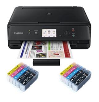 Canon Pixma TS5050 Wireless Printer + 2 Compatible Full Sets £99.99 at Inkredible