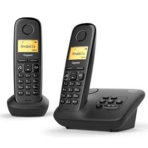 Gigaset A270A Duo Easy to use Twin Cordless Home Telephones with Answering Machine £23.99 delivered at Amazon