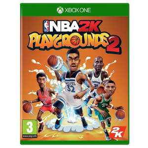 NBA 2K Playgrounds XBOX £4.99 delivered @ Monster-Shop