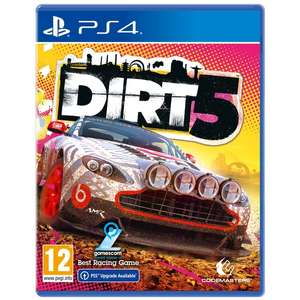 DIRT 5 PS4 Game £32.99 @ 365games.co.uk