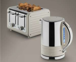 Dualit Architect Kettle and Toaster Set in Oyster White - £124.99 @ Costco