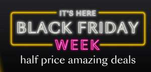 Black Friday week! Half price deals every day plus 1000's of new lines added From Debenhams