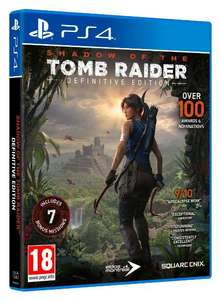 Shadow of the Tomb Raider: Definitive Edition (PS4) £12.85 Delivered @ Shopto