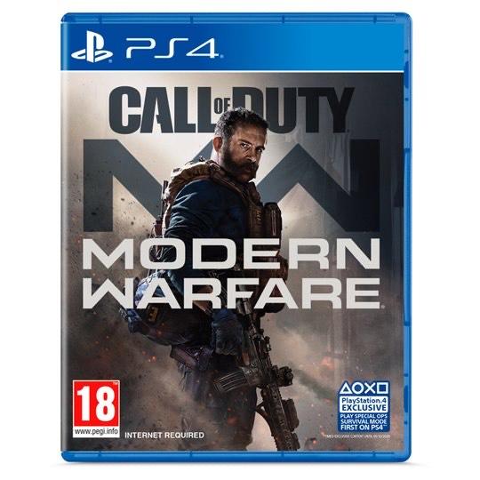 Call of Duty: Modern Warfare (PS4/XB1) £30 @ Tesco