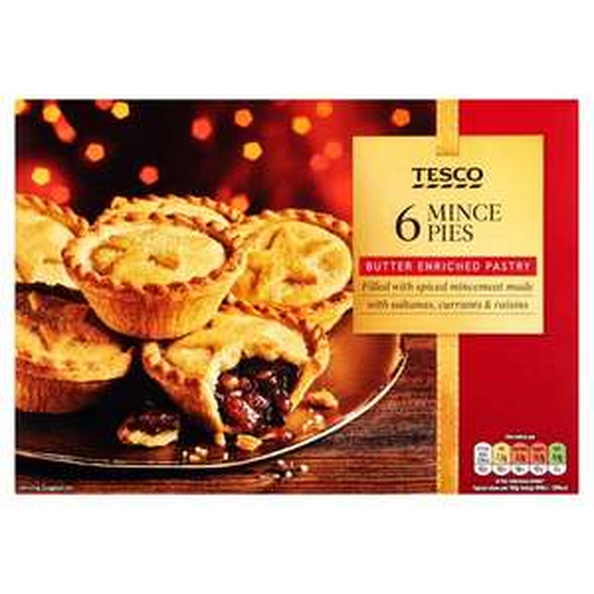 Free Tesco Mince Pies Via The ClubCard App @ Tesco