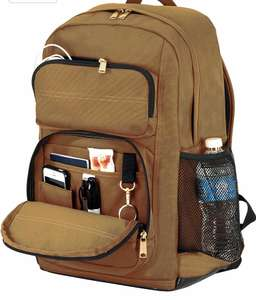 Carhartt Legacy Standard Work Backpack with Padded Laptop Sleeve and Tablet Storage - brown £43.48 @ Amazon