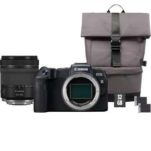 Canon EOS RP Body+RF 24-105mm IS STM Lens+Backpack+SD card+Spare Battery £1469.00 @ Canon Store (£220 Cashback)