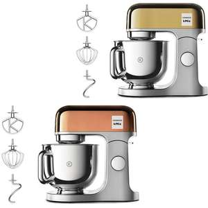 Kenwood kMix KMX760 1000w Kitchen Machine / 5L Capacity - Rose Gold or Gold - £249 Delivered @ Currys