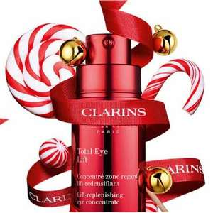 15% Off all orders site wide / 20% Off is spending £100 + 3 Free samples on all orders + Free Delivery @ Clarins