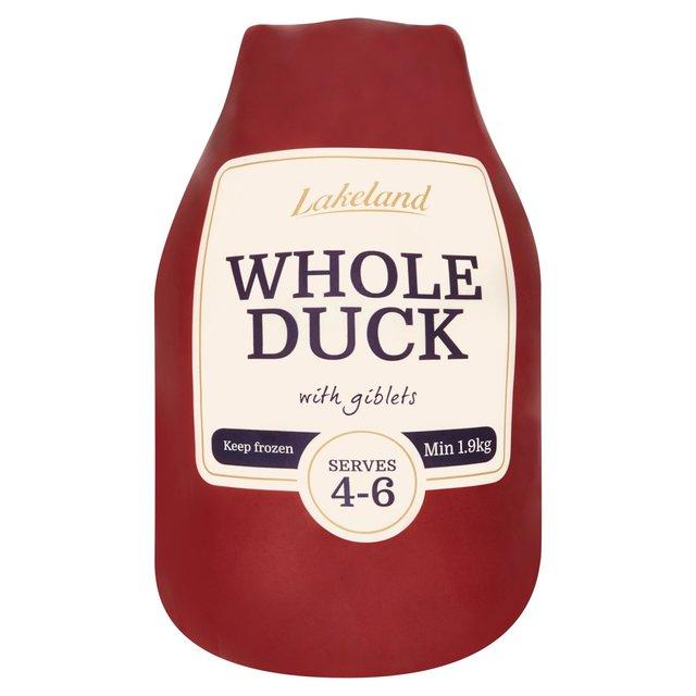 Lakeland Whole Duck (Minimum 1.9Kg) £5 at Morrisons