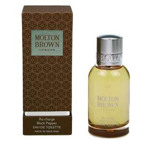 Molton Brown Re-Charge Black Pepper 50ml Eau De Toilette £25.52 with code at Hogies