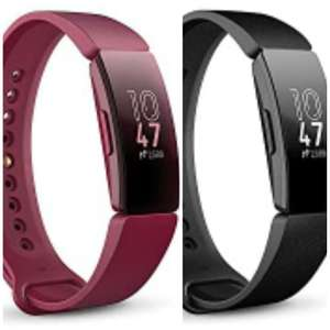 Fitbit Inspire Health & Fitness Tracker with Auto-Exercise Recognition, 5 Day Battery, Sleep &Swim Tracking, Sangria/black £38.99 @ Amazon