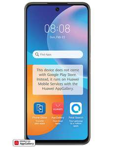 Purchase the Huawei P Smart 2021 From £13.99 pm / 24m + £0 upfront on Pay Monthly and get a FREE £25 Currys Gift Card - Carphone Warehouse