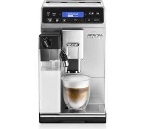 DELONGHI Autentica Cappuccino ETAM29.660.SB Bean To Cup Coffee Machine - Silver £399 at Currys PC World 1% Quidco