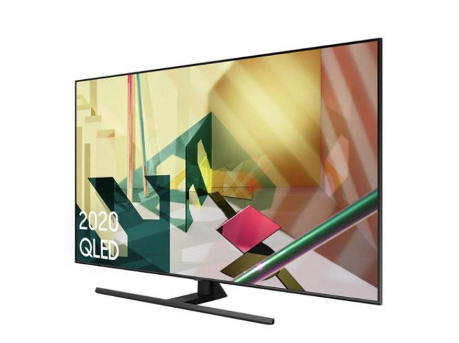 """Samsung QE65Q70TA 65"""" Smart 4K Ultra HD QLED TV £999 at Heals"""