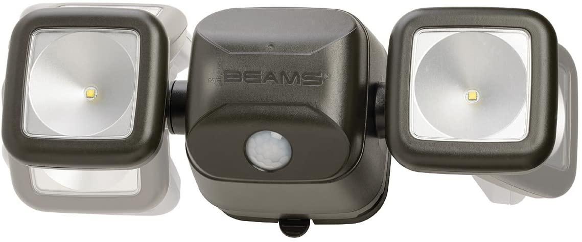 PIR Wireless Battery Powered LED Security Spotlight 500 lumens £30.36 Amazon