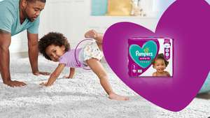 Two FREE packs of Pampers Active Fit Taped nappies at Pampers Squad