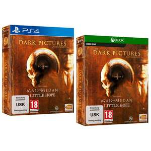The Dark Pictures Anthology: Volume 1 - Limited Edition (PS4 / Xbox One) £35.95 Delivered @ The Game Collection