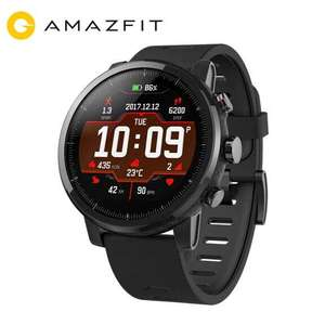 Xiaomi Amazfit Stratos (pace2) Smartwatch £55.56 (paying with PayPal) Delivered via EU using code @ AliExpress / Amazfit Global Retail Store