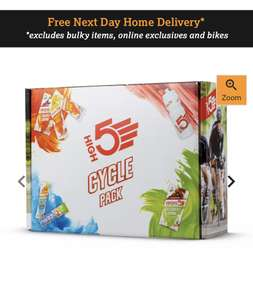 High5 Energy Bars Cycle Pack £7 Halfords FREE Click & Collect