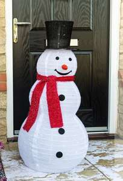 90cm Pop up Snowman £34.99 + £2.95 delivery @ Sue Ryder