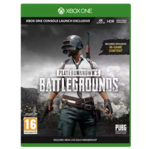 PlayerUnknown's Battlegrounds Full Xbox One Game £6.99 free click and collect @ Argos