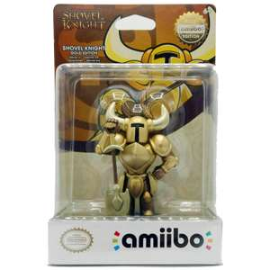 Shovel Knight Gold Edition amiibo (Shovel Knight Collection) £10.49 + £1.99 delivery or free on £20 spend at Nintendo Store