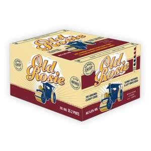 Westerns Old Rosie 20L 6.8% Cloudy Cider 20% Off the original price and free delivery £46.40