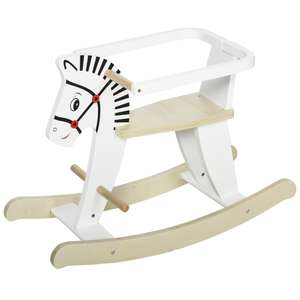 HOMCOM Wooden Rocking Horse ride-on toy for toddlers for £20.99 using code @ Aosom