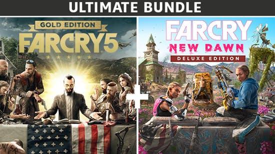Far Cry 5 Gold Edition + Far Cry New Dawn Deluxe Edition Bundle £17.49 @ Fanatical