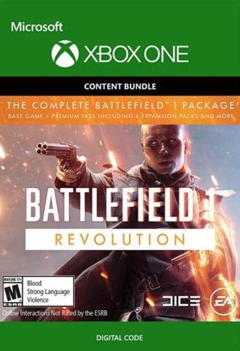 Battlefield 1: Revolution Edition and Battlefield 1943 for Xbox One £3.99 cdkeys