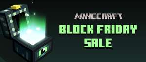 Minecraft Block Friday Sale Up to 75% off in the Marketplace @ Minecraft