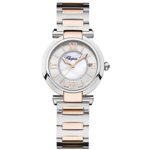CHOPARD Shop Worn Imperiale Automatic Stainless Steel and Rose Gold Watch - £3995 delivered @ Leonard Dewes