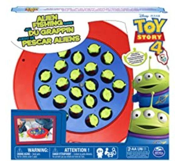 Cardinal Games 6047063 Disney Pixar Toy Story 4 Alien Fishing Game, Multicolour £6 + £3.99 postage @ Amazon