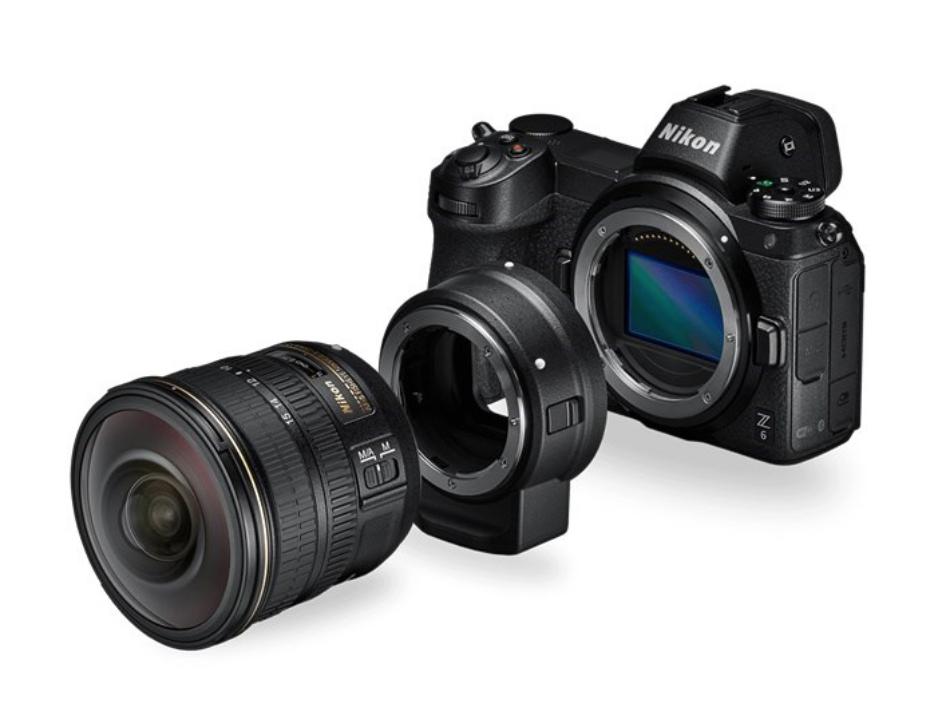 Nikon Z 6 Mirrorless Camera + FTZ Mount Adapter - £1499 delivered @ Park Cameras