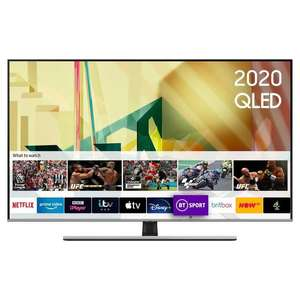 """Samsung 55"""" Smart 4K Ultra HD QLED TV With HDR10+ / Alexa and Google Assistant - £799 [E55Q75TATXXU] / 65"""" Model £999 Delivered @ Currys"""