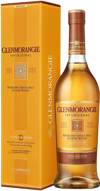 Glenmorangie 10 Year Old Single Malt Scotch Whisky, 70 cl - £25 @ Amazon