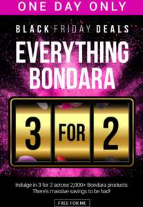 50% off and 3 for 2 on selected lingerie knickers at Bondara Delivery is £3.75 or Free with £40 spend @ Bondara