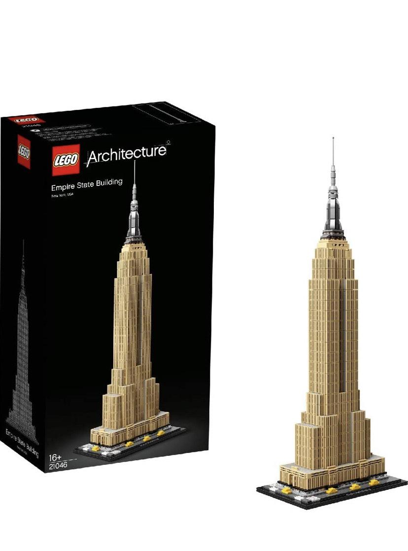 Lego Architecture 21046 Empire State Building £64.99 at Amazon