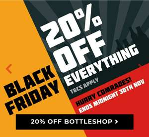 20% off everything at Brew Republic
