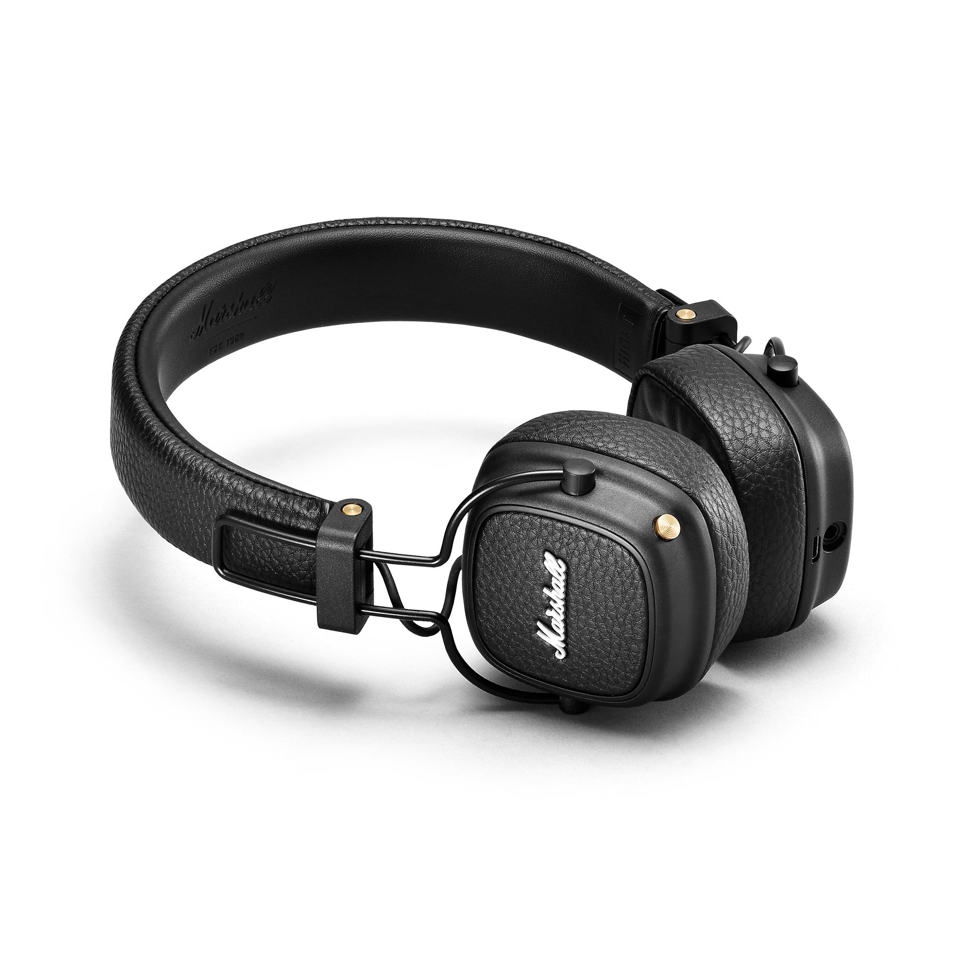 Marshall Major III On-Ear Bluetooth Headphones - Black/White - £49.99 at Marshall Headphones Shop